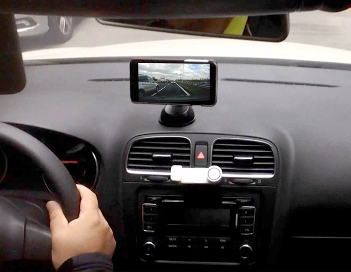 Turning Your Android Phone Into a Dash Cam
