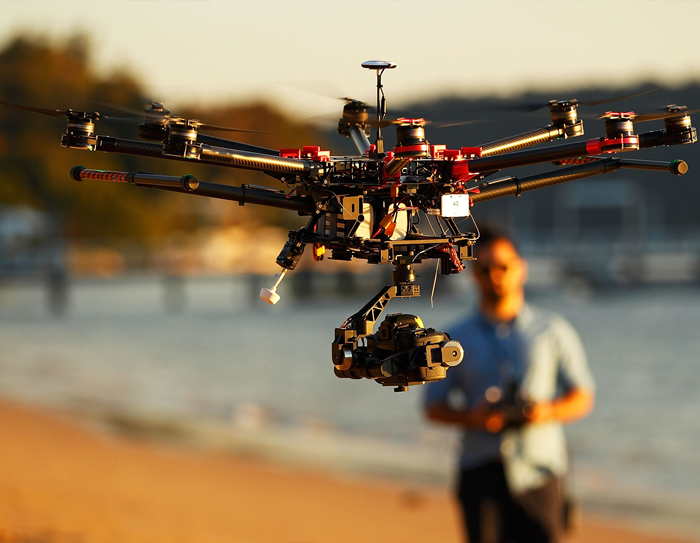 You Can Now Take Over Drones in Controlled Air Spaces