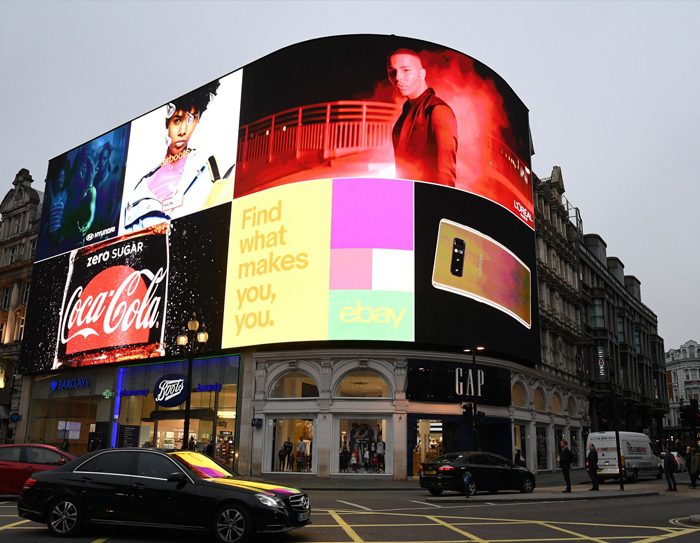 Find Out About the Ingenious Way That Piccadilly Circus Has Started Using Hidden Cameras