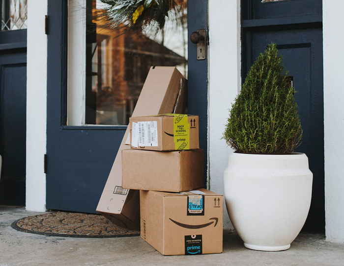 Porch Pirate Caught in the Act Thanks to GPS Tracker